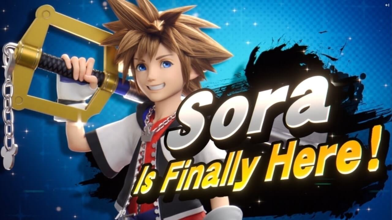 Sora From Kingdom Hearts is The Final Super Smash Bros. Ultimate Fighter