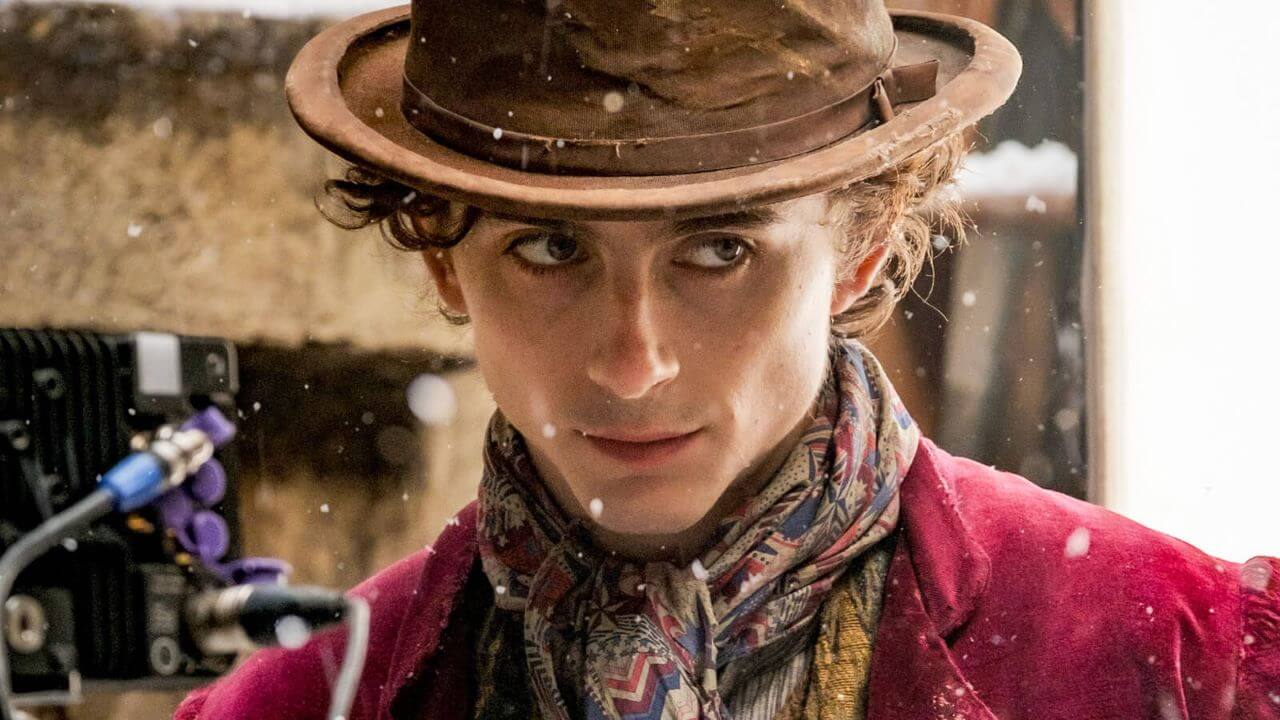 Timothée Chalamet Gives First Look As Willy Wonka